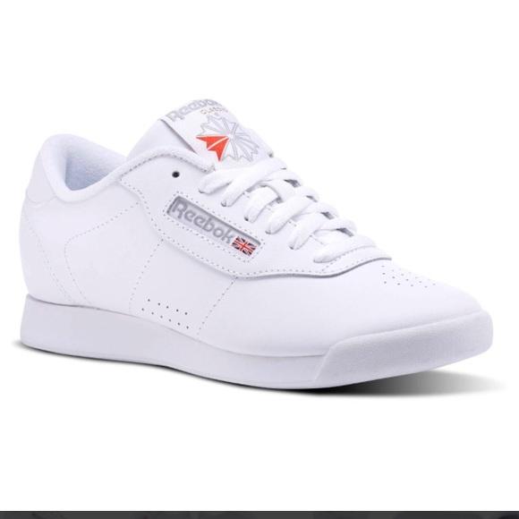 eb692c3a665 Reebok Classic Princess White Shoes Like New. M 5aff59232ae12f494a9cafb7